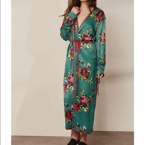 Free People Slim Kimono Duster RARE